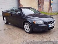 2006 (56) VOLVO C70 2.4 i SE AUTO CONVERTIBLE, 170BHP, PETROL, LONG MOT, SMALL BODY DAMAGE !!
