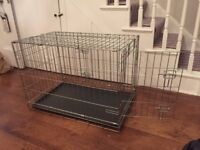 Medium sized dog crate - excellent condition