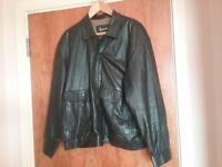 Harrods Quality Mens Leather Jacket