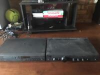 Arcam Cx Player and Amplifier - For parts or not working