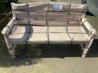 Heavyweight Teak garden bench