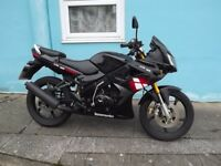 LEXMOTO XTRS 125 2014 BLACK in Paignton , Devon