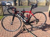 51cm Carbon Cervelo Ultegra 11 Spd full bike