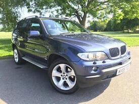 BMW X5 3.0 D Sport (blue) 2005