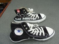 ONE DIRECTION Converse trainers- unused.