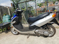 Scooter 125 cc Sukida Long Test USED DAILY