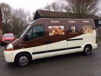 Nice catering van for sale