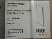 Frameless shower screen enclosure brand new still in box