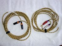 SOMMER VINTAGE GUITAR CABLE 'SILENT' (5m) + MIC CABLE (6m). Unused/surplus to requirements. £40 ono.