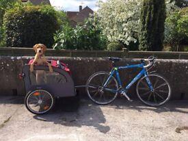 Dog bike trailer & stroller