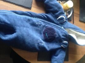 all in one baby coat