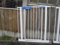 2 childs safety gates.......i never used
