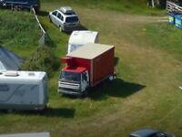 Storage for equipment truck