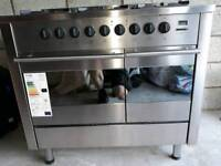 Gas Range Cooker for sale - 100cm dual oven