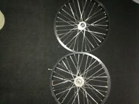 "Custom 18"" BMX Wheels * Great*"