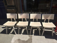 4 x Dining/Kitchen Chairs . Designer chairs CONCEPTA made in Spain RRP £332 per chair .
