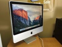 Apple iMac 20' 2.4GHz 4GB 250GB Ableton Cubase Logic Pro X Native Instruments Microsoft Office Adobe