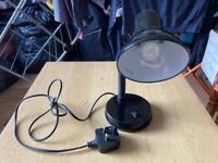 CLEARANCE Office desk lamp in good condition, with light bulb