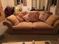 Large sofas x 2