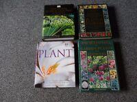 Garding/plant encyclopedia books