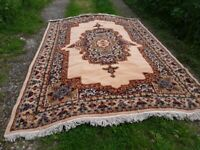Large persian style wool rug