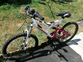 GIRLS MOUNTAIN BIKE MUDDY FOX