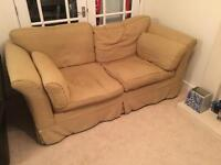 Free but needs collecting... cream sofa