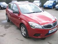 kia ceed 1.6 automatic 5 DOOR ONE OWNER, 2 KEYS, SERVICE HISTORY.. LOOK AUTOMATIC !!!!!