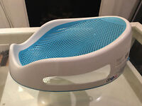 Angelcare Soft Touch Bath Support in Aqua