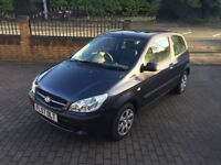 Hyundai Getz 1.1 gsi with only 47000 miles