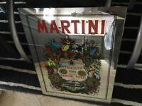Martini pub mirror