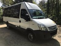 IVECO DAILY 45C15 auto 3.0hpi LWB 16 seater minibus 2007/07 welfare/accessible