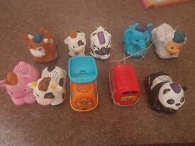 Vtec animals and vehicles all in great condition fully working lights and aounds bately played with