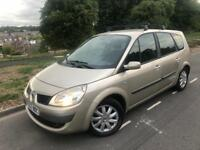 2007 Renault grand scenic 1.9 dci dynamique 7 seater mpv # cheap insurance model # 97 k