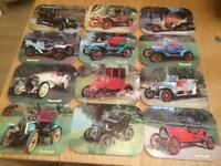 12 table mats and 6 coasters