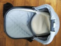 BRAND NEW Uppababy Bassinet / Carrycot Silver Fits 2015 onwards Vista or Cruz Stroller