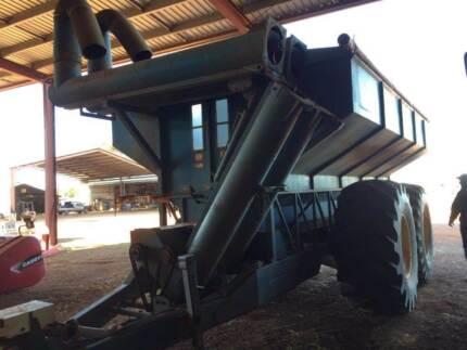Finch 22 ton seed and super bin