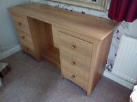 Dressing Table and two Bedside Tables