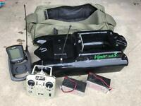 Viper Mk3 bait boat with wireless fish finder