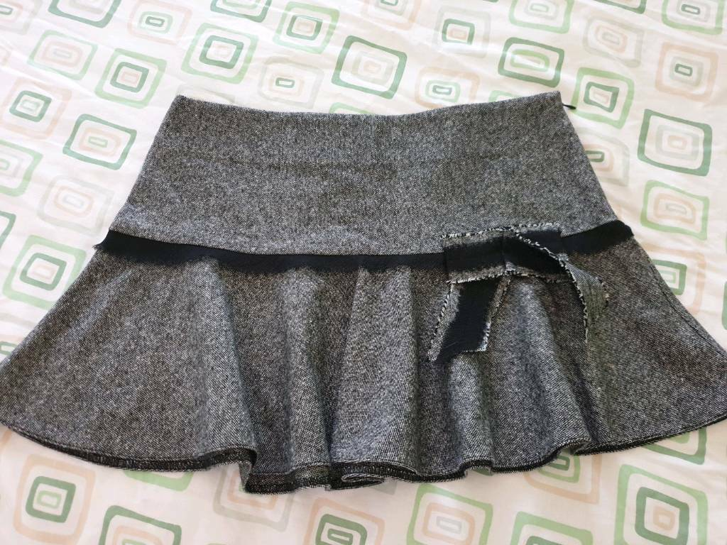daad1ed16 River island Skirt, Black and white, size 8 | in Basildon, Essex | Gumtree
