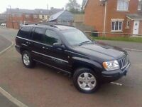 2004 jeep cherokee 2.7 crdi automatic limited editiom low miles full service history 4x4