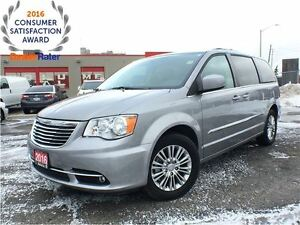 2016 Chrysler Town & Country TOURING-L**LEATHER**NAVIGATION**BLU