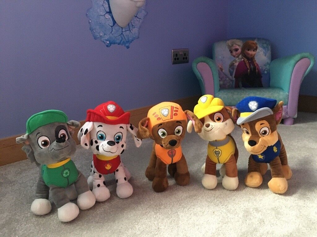 Paw patrol teddy collection