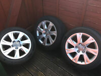 Audi A4 Alloys and Tyres Audi A4