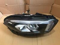 Mercedes a class w177 2018 2019 2020 driver side complete led high performance headlight inc ballast