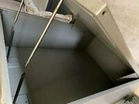 Galvanised storage cabinet