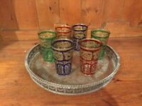Box of 6x Moroccan Tea Glases