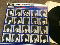 The beatles, a hard day's night mono
