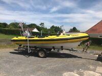 Boat Ribcraft Rib 5.45 90hp
