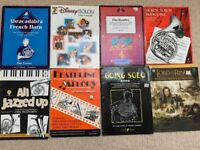 A selection of popular sheet music for French Horn